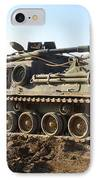 Army Tank IPhone Case by Sharla Fossen