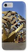 Artwork At The Beijing National Stadium - China IPhone Case by Brendan Reals