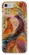 Artwork Fragment 69 IPhone Case by Elena Kotliarker