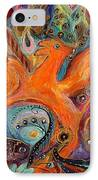 Artwork Fragment 99 IPhone Case by Elena Kotliarker