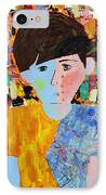 Autism - Child And Mother IPhone Case by Carmencita Balagtas