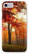 Autumn Canopy IPhone Case by Terri Gostola