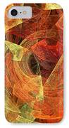 Autumn Chaos IPhone Case by Andee Design