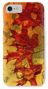 Autumn Leaves IPhone Case by Ann Powell