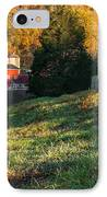 Autumn Road Morning IPhone Case by Bill Wakeley