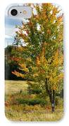 Autumn Shores Of Maine IPhone Case by Lena Hatch