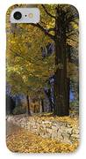 Autumn Wall - Fm000082 IPhone Case by Daniel Dempster