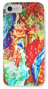 Balcony Kiss IPhone Case by Godfrey McDonnell