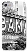 Bama IPhone Case by Scott Pellegrin