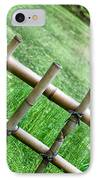 Bamboo Fence IPhone Case by Brett Price