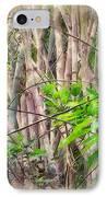 Bamboo Forest At Lamma Island Hong Kong IPhone Case by Yury Malkov