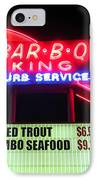Bar B Q King In Charlotte N C IPhone Case by Randall Weidner