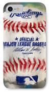 Baseball Iv IPhone Case by Lourry Legarde