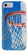 Basketball Net IPhone Case by Valentino Visentini