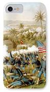 Battle Of Qusimas IPhone Case by Kurz and Allison