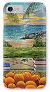 Beach View IPhone Case by Carey Chen