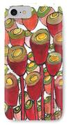 Beating Of The Drum IPhone Case by Sherry Harradence