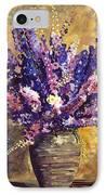 Beaujolais Bouquet IPhone Case by David Lloyd Glover