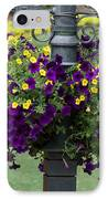 Beautiful Hanging Flowers IPhone Case by Sabrina L Ryan
