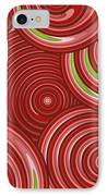 Beetroot Pink Abstract IPhone Case by Frank Tschakert