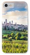 Bella Toscana IPhone Case by JR Photography