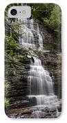 Benton Falls IPhone Case by Debra and Dave Vanderlaan