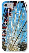 Big Wheel IPhone Case by Kaye Menner