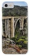 Bixby Creek Bridge IPhone Case by Heather Applegate