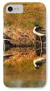 Black-necked Stilts IPhone Case by Robert Bales