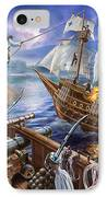 Blackbeard IPhone Case by Adrian Chesterman
