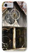 Blacksmith Shop IPhone Case by Susan Leggett