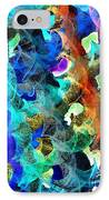 Blue Chain IPhone Case by Julio Haro