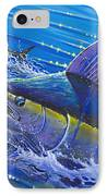 Blue Persuader  IPhone Case by Carey Chen