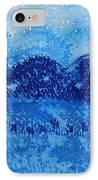 Blue Ridge Original Painting IPhone Case by Sol Luckman