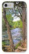 Blue Spring Branch 2 IPhone Case by Marty Koch