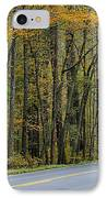 Blueridge Parkway Virginia IPhone Case by Todd Hostetter
