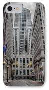 Board Of Trade IPhone Case by Mike Burgquist