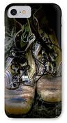 Boots That Grunt  IPhone Case by Steven  Digman
