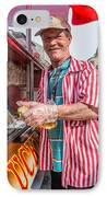 Bourbon Street - Lucky Dog And A Smile IPhone Case by Steve Harrington