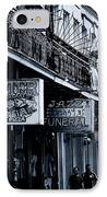 Bourbon Street New Orleans IPhone Case by Christine Till