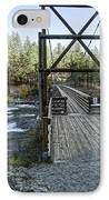 Bowl And Pitcher Bridge - Spokane Washington IPhone Case by Daniel Hagerman