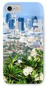 Brisbane Cbd IPhone Case by Peta Thames