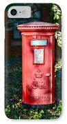 British Mail Box IPhone Case by Paul Ward