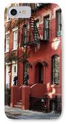 Brownstone IPhone Case by John Rizzuto