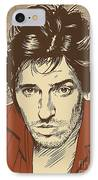 Bruce Springsteen Pop Art IPhone Case by Jim Zahniser