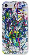 bSeter Elyion 32 IPhone Case by David Baruch Wolk