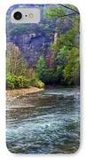 Buffalo River Downstream IPhone Case by Marty Koch