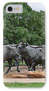 Bull Market IPhone Case by Christine Till