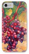 Bunch Of Grapes IPhone Case by Carolyn Jarvis