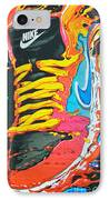 Burning To Do It In Portland IPhone Case by David Bearden